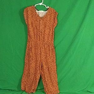 Cat & Jack S 6/6x heart jumpsuit